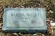 Martha <I>Naylor</I> Metzler