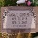 "Profile photo:  Anna Lee ""Little Granny"" <I>Mckee</I> Girdler"