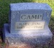 Mary Jane <I>Huddleston</I> Camp