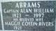 Capt Alan William Abrams