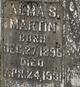 Profile photo:  Alma <I>Greeson</I> Martin