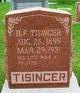 Profile photo:  B F Tisinger