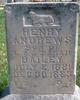 Profile photo:  Henry Andrews Bailey