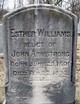 Esther <I>Williams</I> Armstrong