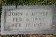 Profile photo:  John Allen Houston Dover Sr.