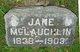 Jane <I>Mattix</I> McLaughlin