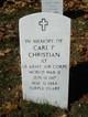 Carl F Christian