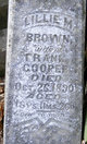 Lillie M <I>Brown</I> Cooper