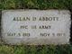 Allan D Abbott