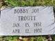 Bobby Joe Troutt