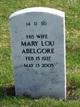 Profile photo:  Mary Lou <I>Hopkins</I> Abelgore