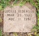 Lucille Alderson