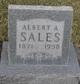Profile photo:  Albert A. Sales