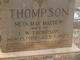 Neta May <I>Mayhew</I> Thompson