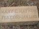 """Mary Elizabeth """"Mollie"""" <I>Holthouser</I> Mayhew"""
