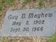 Guy DeWitt Mayhew