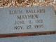 Edith V. <I>Ballard</I> Mayhew