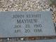 John Kermit Mayhew