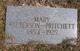 Mary <I>Morris</I> Patterson-Pritchett