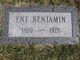 Ent Benjamin