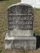 Profile photo:  B. H. Baker