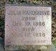"Juliet ""Julia"" <I>Cottingham</I> Hardgrave"