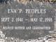 Eva P Peoples