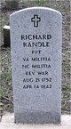 PVT Richard Randle