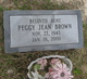 Peggy Jean Brown