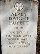 Profile photo: Pvt Alvey Dwight Huyett