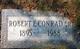 """Robert Earl """"Bob"""" Conrad, Sr"""