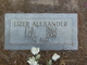 "Profile photo:  Eliza Marie ""Lizer"" <I>Adams</I> Alexander"