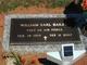 """Sgt William Earl """"Bill"""" Bailey"""