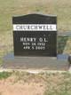 Profile photo:  Henry Omar Lee Churchwell