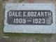 Dale E Bozarth