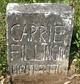 Carrie <I>Phillips</I> Fillingim