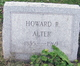 Profile photo:  Howard Russell Alter, Sr