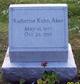 Profile photo:  Katherine <I>Kuhn</I> Aber