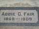 Profile photo:  Abbie C Fair