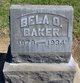 Profile photo:  Bela O Baker