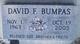 Profile photo:  David F. Bumpas