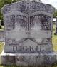 Fannie C. <I>Harrelson</I> Dickie