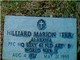 "Hilliard Marion ""Hoss"" Terry"