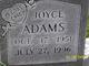 Profile photo:  Joyce Ann Adams