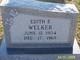 Edith Emaline <I>Branham</I> Welker
