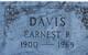 Profile photo:  Earnest Powell Davis