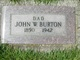 Profile photo:  John W Burton