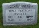 Irma <I>Watson</I> Bassett