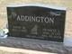 Anna M. <I>Warnes</I> Addington