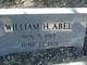 Profile photo:  William H Abel, Jr